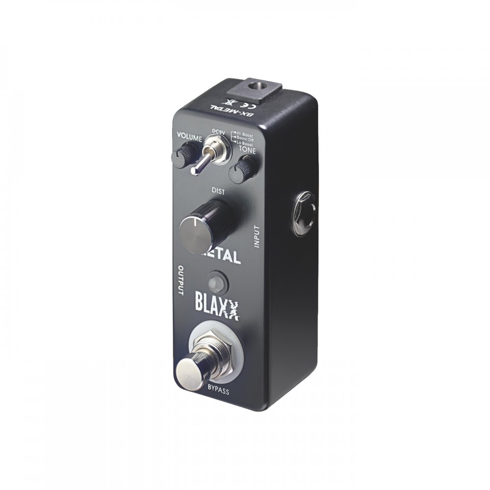 Stagg Blaxx 3-mode Metal Guitar Effect Pedal