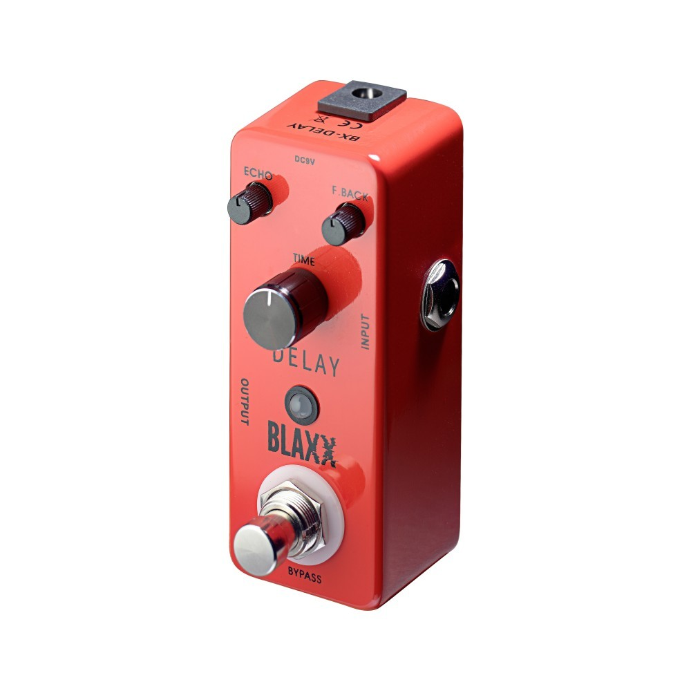 stagg blaxx delay electric guitar effect pedal. Black Bedroom Furniture Sets. Home Design Ideas