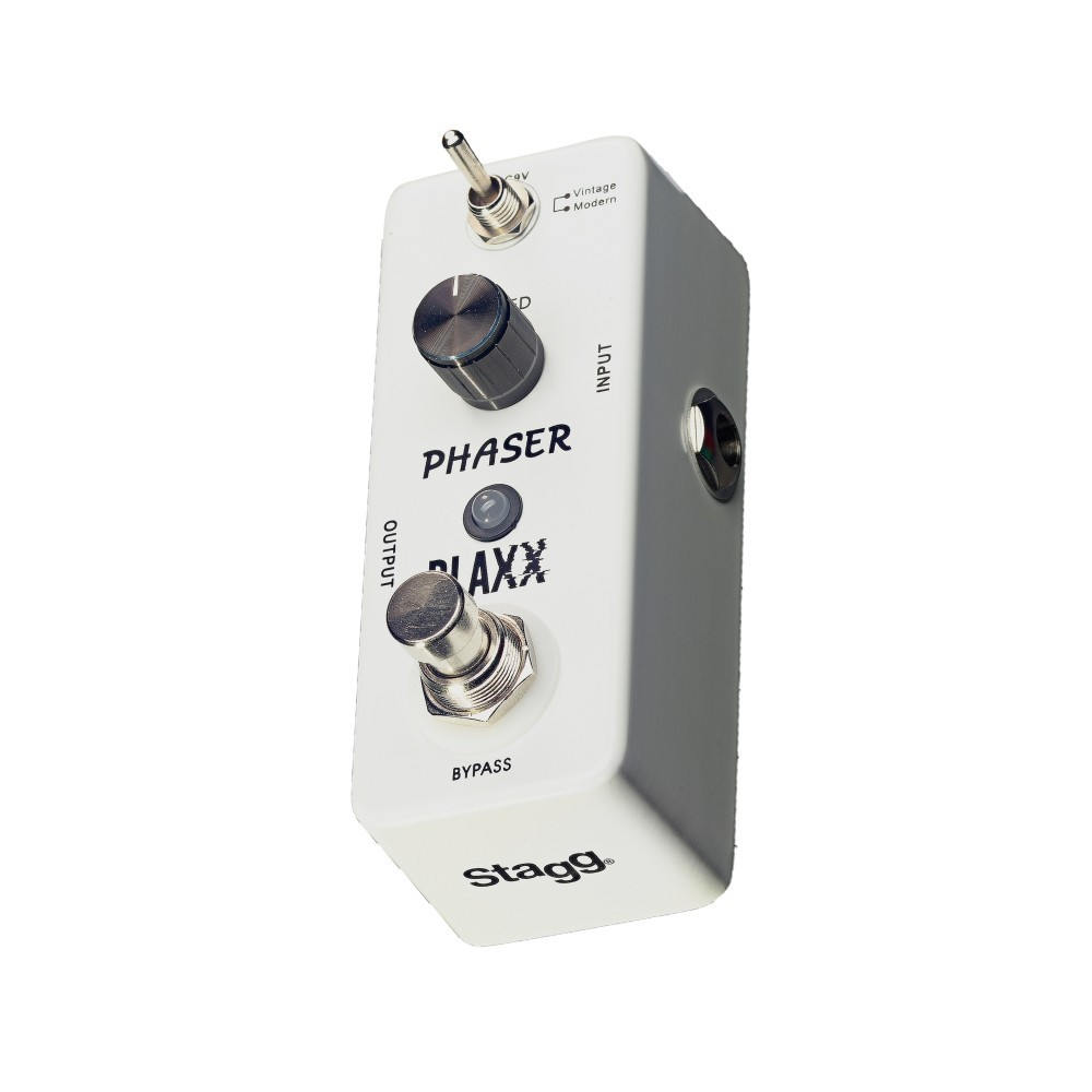 Stagg Blaxx Phaser Electric Guitar Effect Pedal
