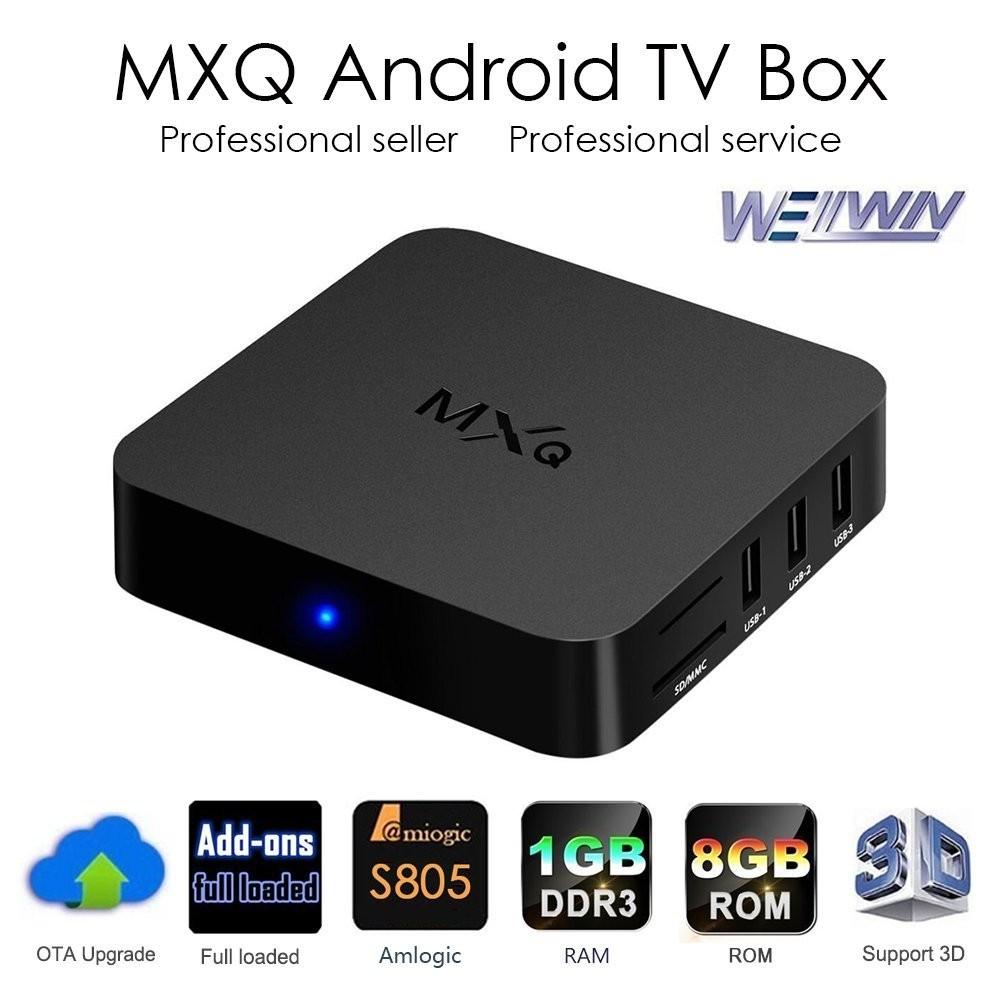 Blade MXQ TV BOX Android 4 4 Amlogic S805 Quad Core 1G/8GB