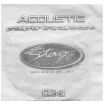 Stagg PBW 038 Acoustic Phosphor Bronze Wound String