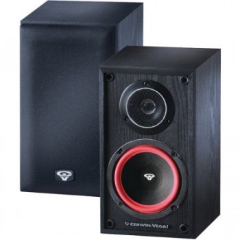 "Cerwin Vega VE 5M 5"" 2 Way VE Series Bookshelf Satellite Speakers (Pair)"