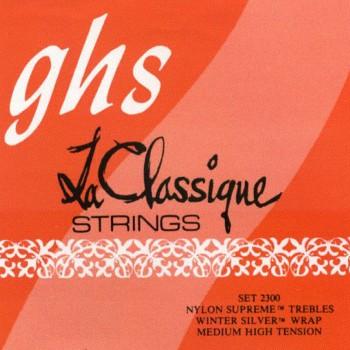 GHS 2300G Set La Classique Ground Nylon trebles winter