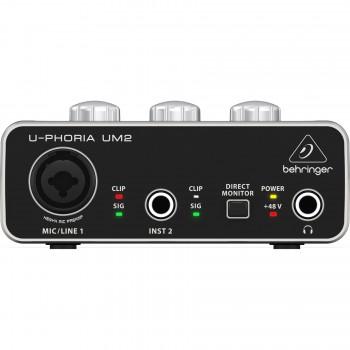 Behringer UM2 2X2 audiocard