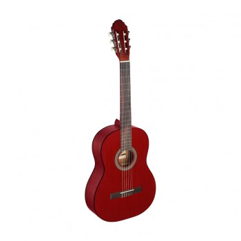 Stagg C440 M 4/4 Size Classical Guitar - Red