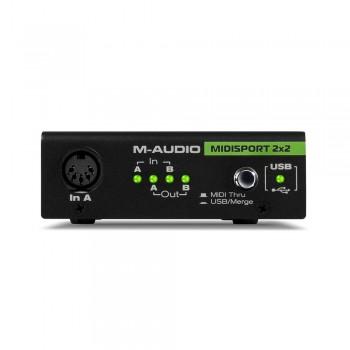 M-audio Midisport 2X2 midi