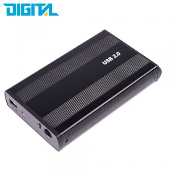 Western Digital 3.5″ HDD Hard Disk Enclosure Case Cover Shell with External Power USB 2.0