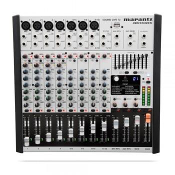 Marantz Sound Live 12 12-Channel / 2-Bus Tabletop Mixer