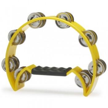 Stagg TAB-2 Cutaway Tambourine - Yellow