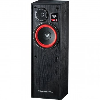 Cerwin Vega VE-8 8-Inch 2 way Floor Tower Speaker (Pair)