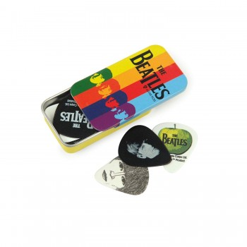 Beatles Signature Pick-Tin, colored box