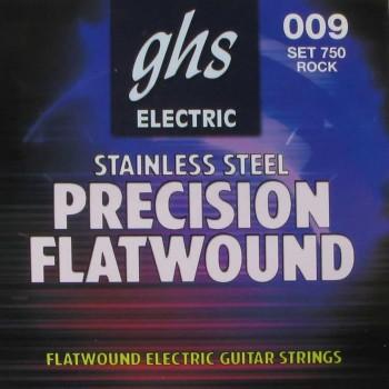 GHS 750 Set Electric Guitar Precision Flatwound Rock