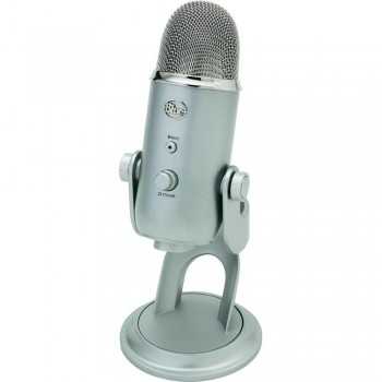 Blue Microphones Yeti Studio USB Condenser Microphone-Platinum