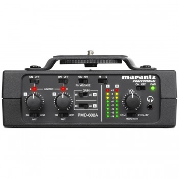 Marantz PMD-602A 2-channel DSLR Audio Interface