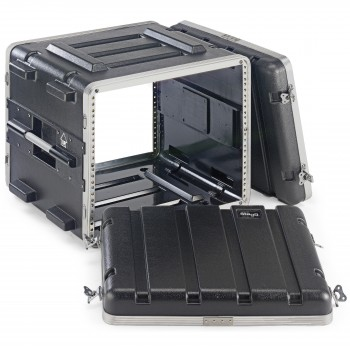 Stagg ABS-8U ABS Rack Case - 8 Units