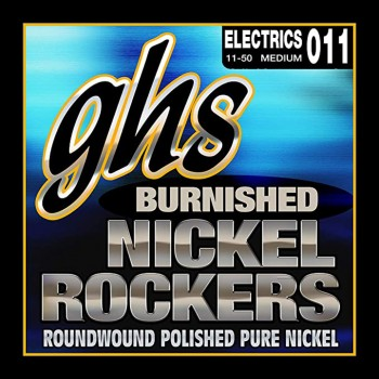 GHS BNR-M Set Pure Nickel Roundwound Strings For Electric