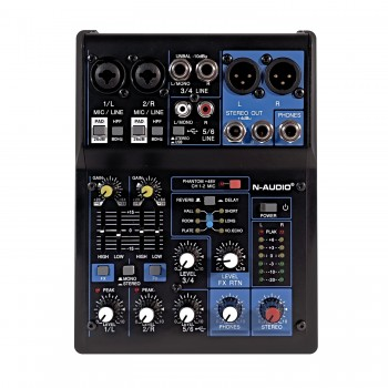 N-audio MG06X Mixer with Effects