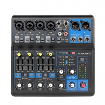 N-audio MG08X USB mixer with effects