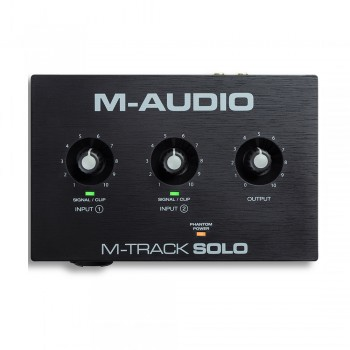 M-Audio MTrack Solo II USB Audio Interface