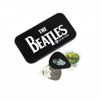 Beatles Signature Pick-Tin, beatles logo