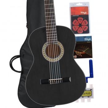Black Classic Guitar pack