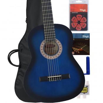 Blue Burst Classic Guitar pack