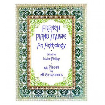 French Piano Music An Anthology