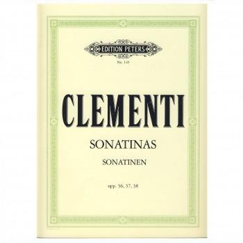 Clementi Sonatinas Op 36, 37, 38