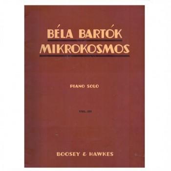 Bela Bartok Mikrokosmos Piano Solo Volume 3