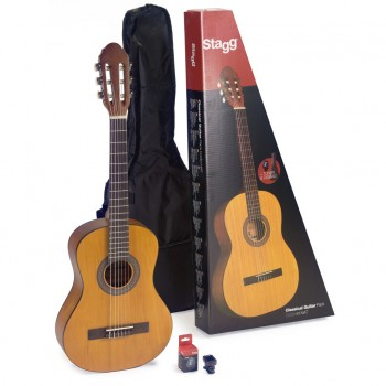 Stagg C430 3/4 Size Classic Guitar Pack-Natural
