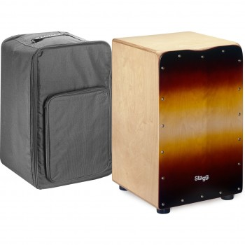 Stagg Medium-Sized Birch Cajon -SB finish Front Board