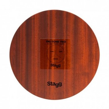 Stagg CAJ-TRIPAD Tri-Tone Pad with Bag