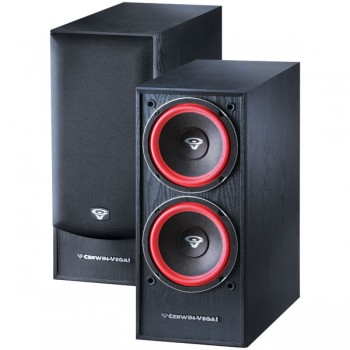 Cerwin vega VE-28S Dual 8 inch 250 Watt Powered Subwoofer