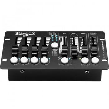 Stagg Commandor 4MK2-2 EU 4-Fixt DMX Light Controller