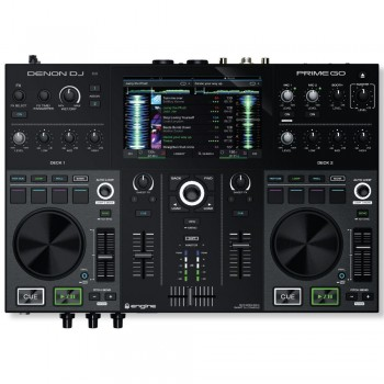 Denon DJ Prime GO Rechargeable DJ System with Touchscreen & Wi-Fi