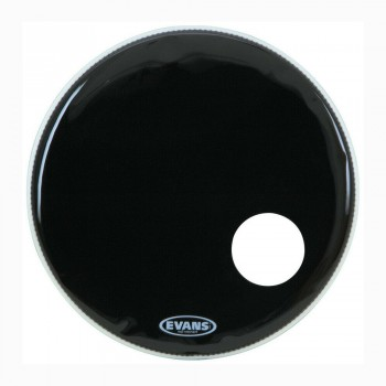 Evans BD22RB EQ3 Bass drum 22inch black 1-ply