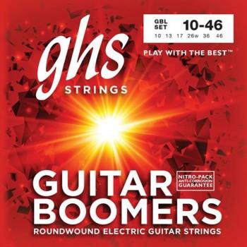 GHS GBL Guitar Boomers Electric Guitar Strings - .010-.046 Light
