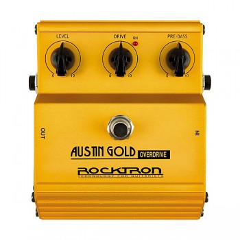 Rocktron Austin Gold Overdrive Pedal