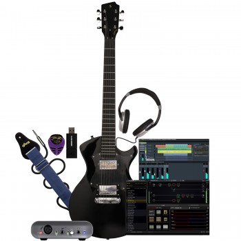 The producer guitar bundle with silverray guitar