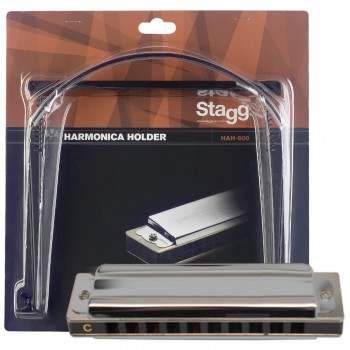 Stagg Harmonica BJ bundle