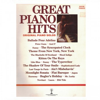 Great Piano Hits Book Three