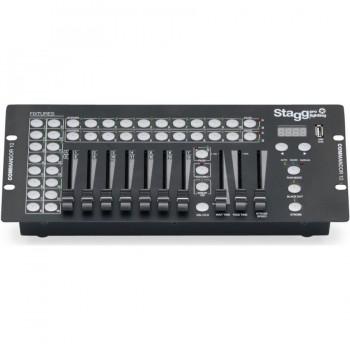Stagg Commandor 10-2 10-Chan DMX Light Controler-EU