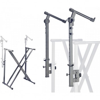 Stagg Double X Keyboard Stand with Kxs-A12 Extension