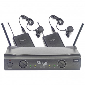 Stagg SUW50 double lavaliers