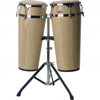 Stagg Wooden Congas With Stand