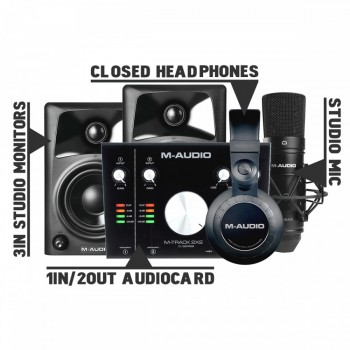 M-audio Ultimate pack 1