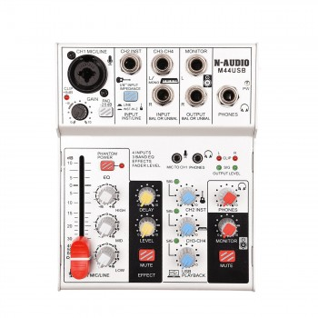 N-audio M44 Mixer and USB Audio Interface