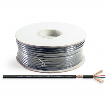 Stagg ROLL M60/2 BKH 100m Microphone Bulk Cable