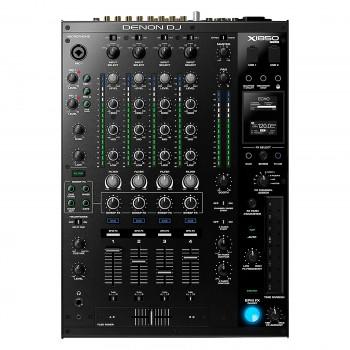 Denon DJ X1850 Prime 4-Channel DJ Mixer with Effects and Serato Compatibility