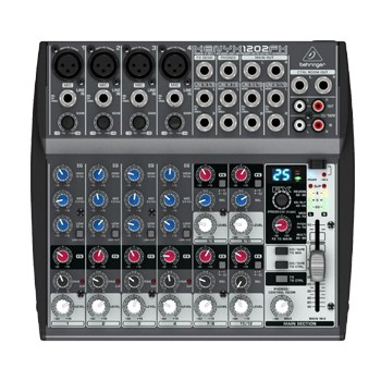 Behringer Xenyx 1202FX Mixer with Effects
